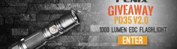 Win a Fenix PD35 V2.0 Flashlight
