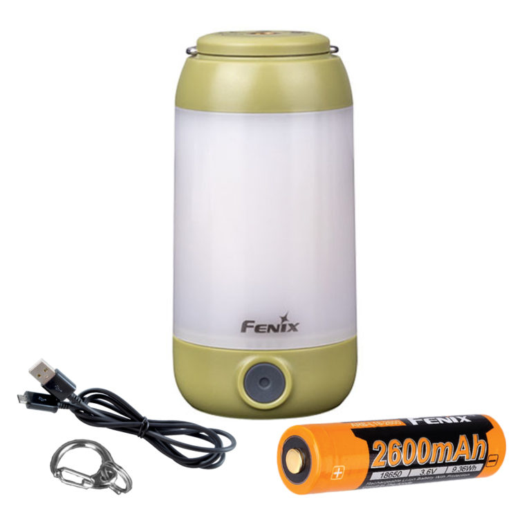 Fenix CL26R rechargeable LED camping lantern