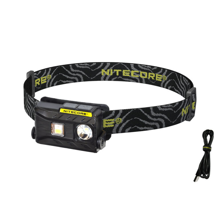 NITECORE NU25 360 lumen rechargeable headlamp for backpacking and camping