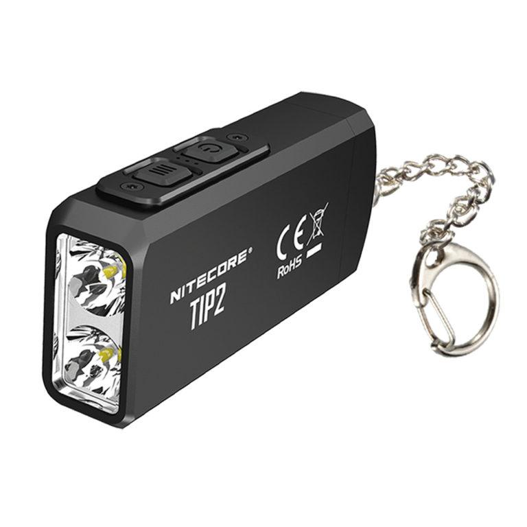 NITECORE TIP2 720 lumen rechargeable keychain flashlight